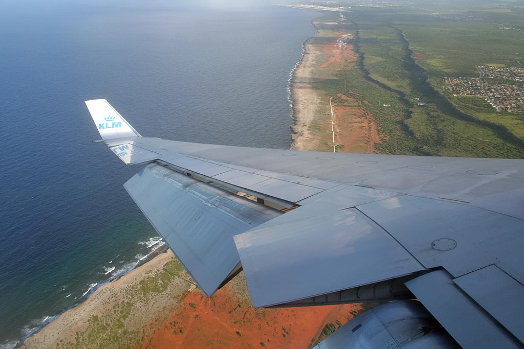 ticket naar curacao klm in december