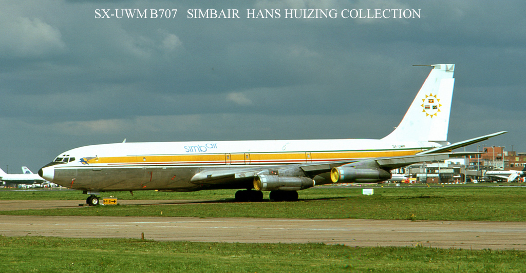 Hans Huizing B707 720 Collection